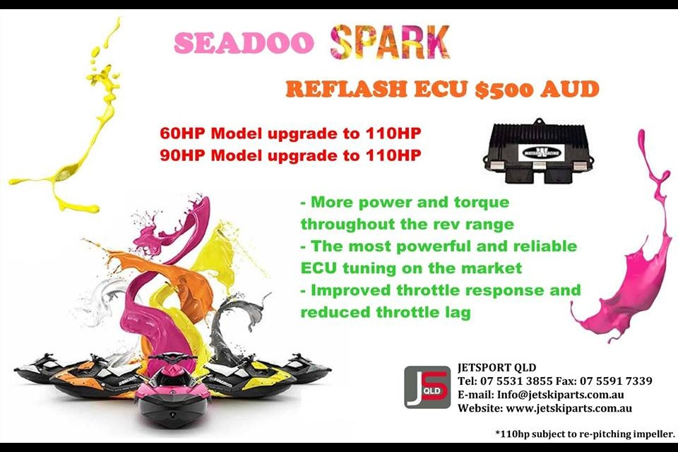 Seadoo Spark - Small Talk - Jetboot de